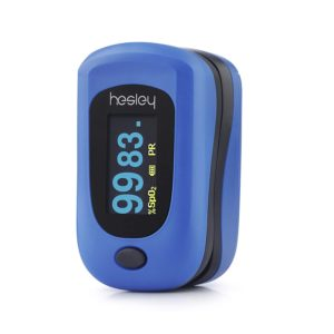 Amazon India : Hesley Finger Pulse Oximeter, (SpO2) Blood Oxygen Saturation Monitor with Pulse Rate Measurements at Rs.1299