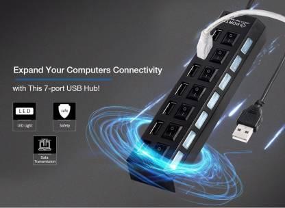 Flipkart : TechGear 7 Port USB High Speed 3.0 Desktop Hub Station