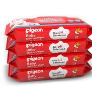 Amazon India : Pigeon Baby Skincare Wipes 72 Sheets Combo (Pack of 4)
