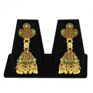 Amazon India : Sukkhi Copper Jhumki Earrings for Women (Golden)