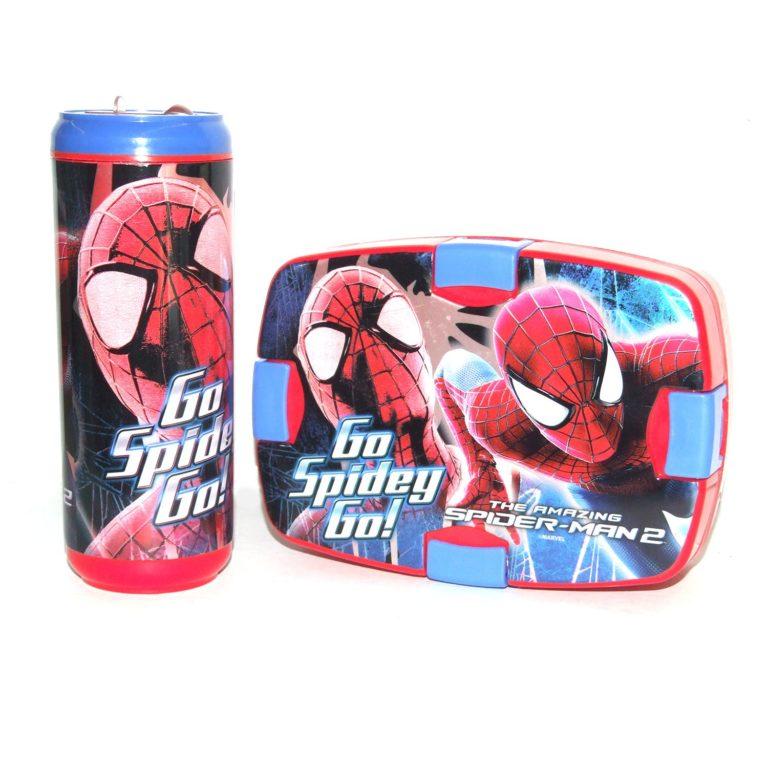 Amazon India : Cello Spiderman Combo Plastic Lunch Box Set, 2-Pieces, Blue/Red