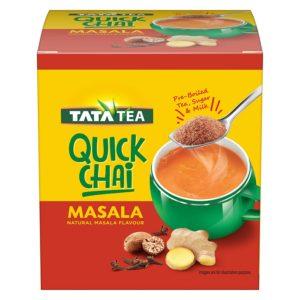 Amazon India : Tata Tea Quick Chai Masala 10s at Rs.99.40
