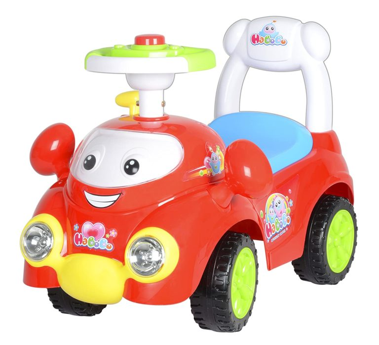 Amazon India : Toy House Ride on Bo Bo Activity Racer Push Car, Red at Rs.2339