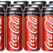 Amazon India : Coca-Cola Tanpa Kalori ( No Calorie ) No Sugar Imported - 320ML [Pack of 12]