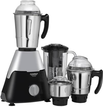Flipkart : Maharaja Whiteline Infinimax Elite Mixer Grinder (Grey, Black, 4 Jars) at Rs.3249