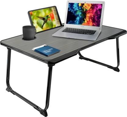 Flipkart : Portronics Wood Portable Laptop Table  (Finish Color - Black)