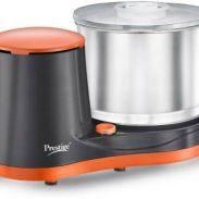 Prestige PWG 07 200 W Mixer Grinder (Orange & Black , No Jar) at Rs.3350