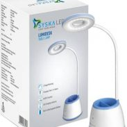 Syska Rechargeable Table Lamp (24 cm, White) at Rs.1099