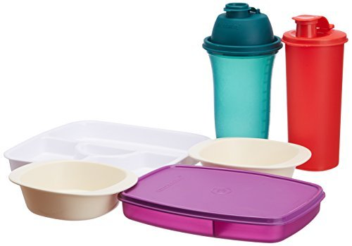 Signoraware Care You Kids Set, 5-Pieces, (Free 1-Piece Kids Square Thali) at Rs.269