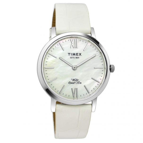 Timex Analog White Dial Women's Watch at Rs.1528