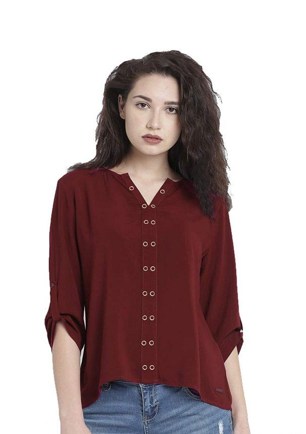 fmania Women Tunic Short Top Casual for Women/Girls Top at Rs.300