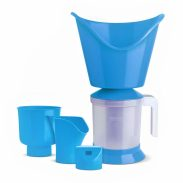 Amazon Brand - HomeBox 3 in 1 vaporizer steamer (Blue) at Rs.199