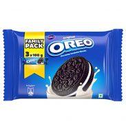 Cadbury Oreo Original Vanilla Creme Biscuit Family Pack, 300 g at Rs.65.47