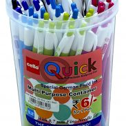 Cello Quick Ball Pen Set - Pack of 50 (Blue) at Rs.195