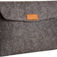 AmazonBasics 13-inch Felt Laptop Sleeve (Charcoal) at Rs.499