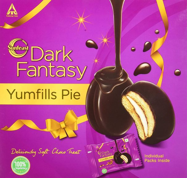 Sunfeast Yumfills Whoopie Pie, Chocolate Chip, 253g at Rs.72
