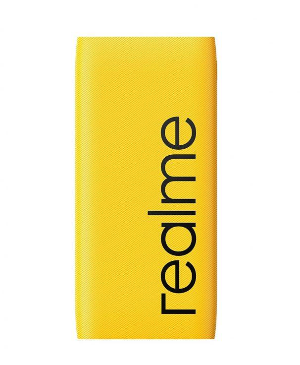 realme 10000mAh 12W Quick Charge Li-Polymer Power Bank 2i (Yellow, Slim Design, Dual Input Ports) at Rs.699