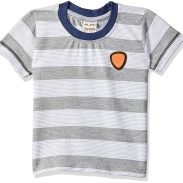 Little Kangaroos Baby-Boy's Regular Fit T-Shirt at Rs.121