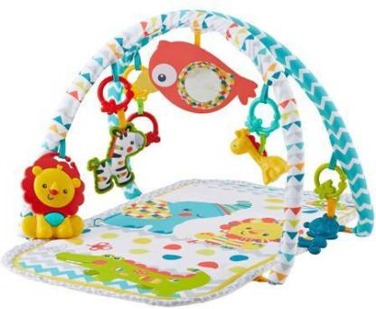 Fisher-Price Colourful Carnival 3-In-1 Musical Activity Gym (Multicolor) at Rs.1110