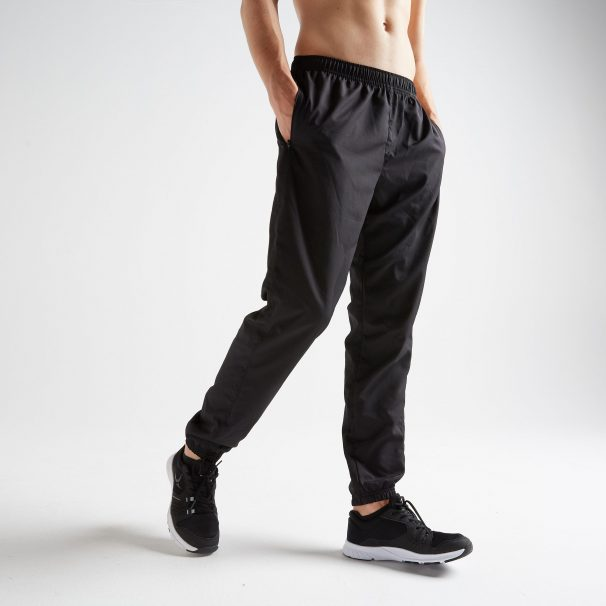 DOMYOS Men's Fitness Workout Bottoms - Black at Rs.699