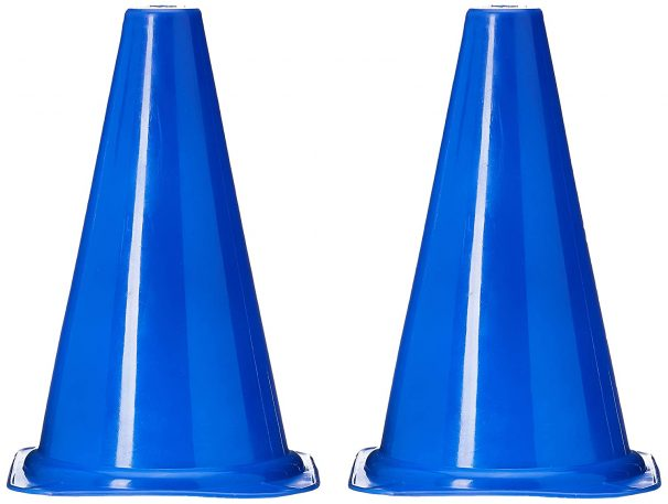 Skera Training & Playing Field Equipment 9 Inch Cone Marker at Rs.150