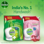 Dettol Original Germ Protection Handwash Liquid Soap Refill, 1500ml @Rs.199