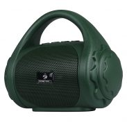 Zebronics Zeb-County Bluetooth Speaker with Built-in FM Radio, Aux Input and Call Function (Green) at Rs.499